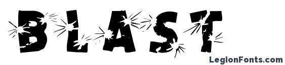BLAST Font