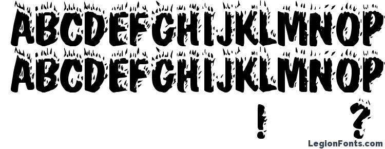 глифы шрифта Blaze, символы шрифта Blaze, символьная карта шрифта Blaze, предварительный просмотр шрифта Blaze, алфавит шрифта Blaze, шрифт Blaze