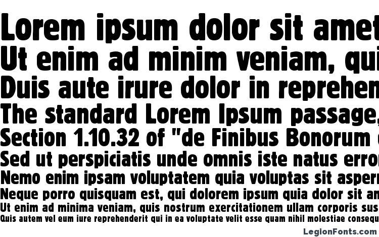 specimens BlockTRegCon font, sample BlockTRegCon font, an example of writing BlockTRegCon font, review BlockTRegCon font, preview BlockTRegCon font, BlockTRegCon font