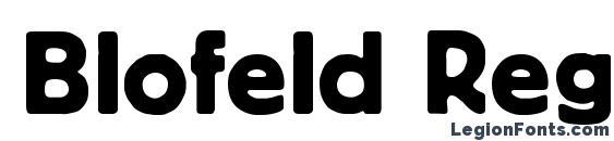 Blofeld Regular DB Font