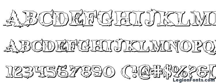 glyphs Blood Crow Shadow font, сharacters Blood Crow Shadow font, symbols Blood Crow Shadow font, character map Blood Crow Shadow font, preview Blood Crow Shadow font, abc Blood Crow Shadow font, Blood Crow Shadow font