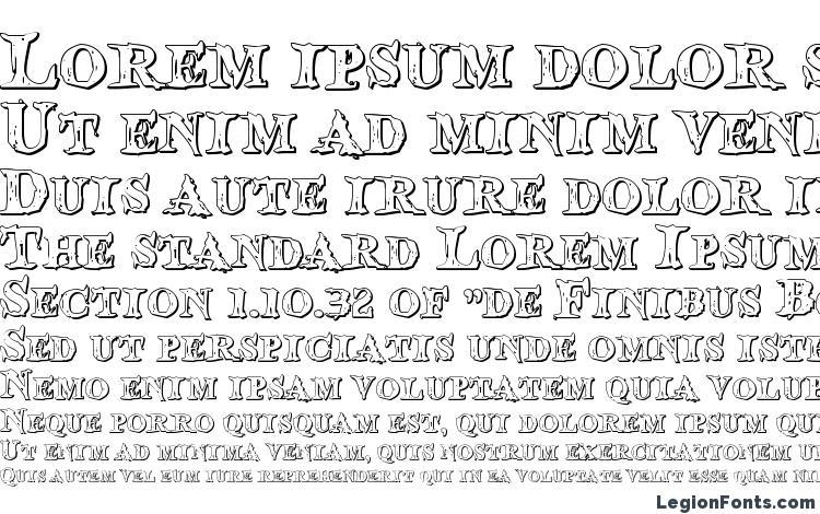 specimens Blood Crow Shadow font, sample Blood Crow Shadow font, an example of writing Blood Crow Shadow font, review Blood Crow Shadow font, preview Blood Crow Shadow font, Blood Crow Shadow font