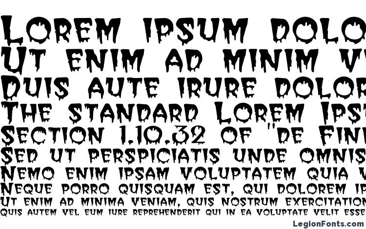 specimens Bloodc font, sample Bloodc font, an example of writing Bloodc font, review Bloodc font, preview Bloodc font, Bloodc font