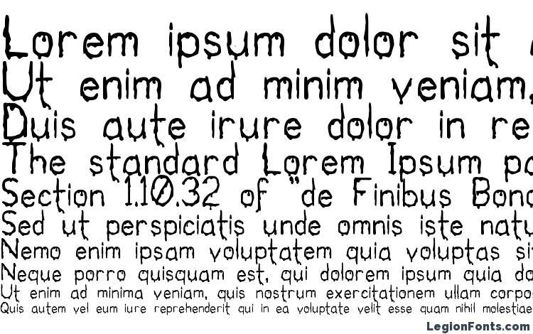 specimens Bloodgut font, sample Bloodgut font, an example of writing Bloodgut font, review Bloodgut font, preview Bloodgut font, Bloodgut font