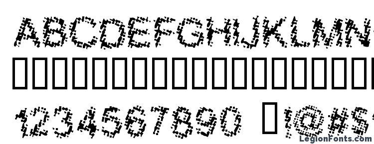 глифы шрифта Bloody shrapnel, символы шрифта Bloody shrapnel, символьная карта шрифта Bloody shrapnel, предварительный просмотр шрифта Bloody shrapnel, алфавит шрифта Bloody shrapnel, шрифт Bloody shrapnel