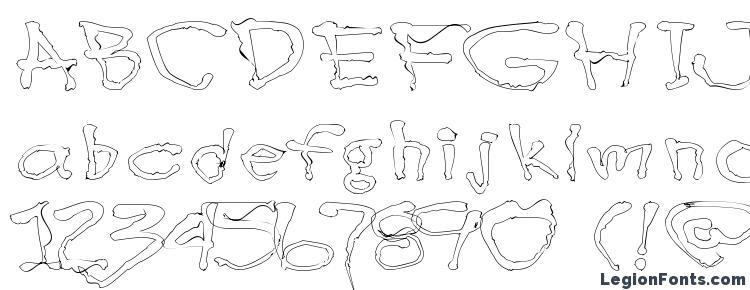 глифы шрифта Blotlb, символы шрифта Blotlb, символьная карта шрифта Blotlb, предварительный просмотр шрифта Blotlb, алфавит шрифта Blotlb, шрифт Blotlb