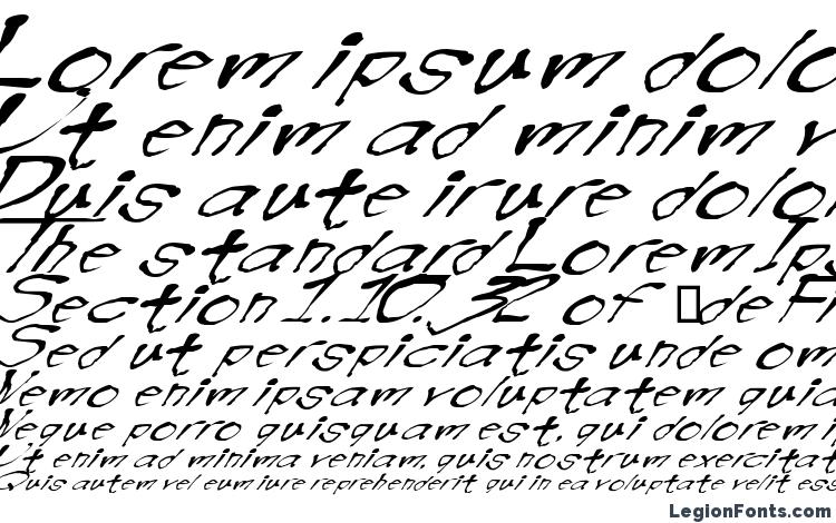 specimens Blotw font, sample Blotw font, an example of writing Blotw font, review Blotw font, preview Blotw font, Blotw font