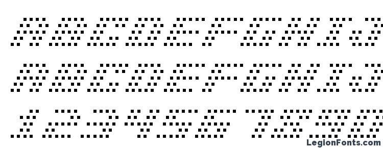 глифы шрифта Bm pinhole a13, символы шрифта Bm pinhole a13, символьная карта шрифта Bm pinhole a13, предварительный просмотр шрифта Bm pinhole a13, алфавит шрифта Bm pinhole a13, шрифт Bm pinhole a13