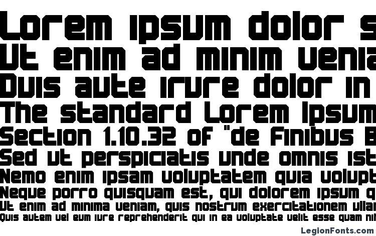 specimens BN Machine font, sample BN Machine font, an example of writing BN Machine font, review BN Machine font, preview BN Machine font, BN Machine font