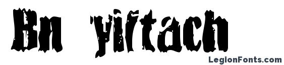 Bn yiftach Font, Halloween Fonts