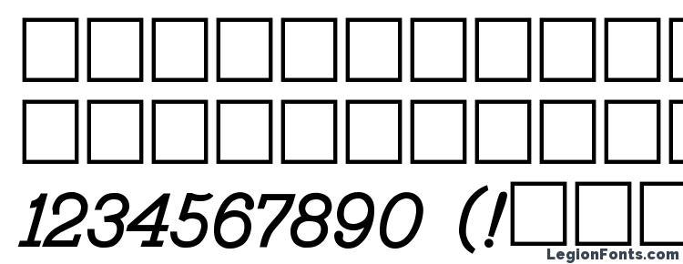 глифы шрифта Bo2 431A, символы шрифта Bo2 431A, символьная карта шрифта Bo2 431A, предварительный просмотр шрифта Bo2 431A, алфавит шрифта Bo2 431A, шрифт Bo2 431A