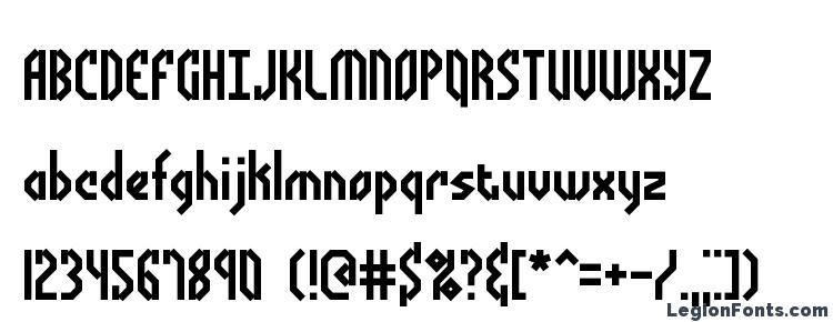 глифы шрифта Bocuma Angle BRK, символы шрифта Bocuma Angle BRK, символьная карта шрифта Bocuma Angle BRK, предварительный просмотр шрифта Bocuma Angle BRK, алфавит шрифта Bocuma Angle BRK, шрифт Bocuma Angle BRK
