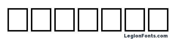 Bodfwfbi Font