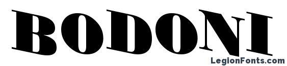 Шрифт Bodoni 2
