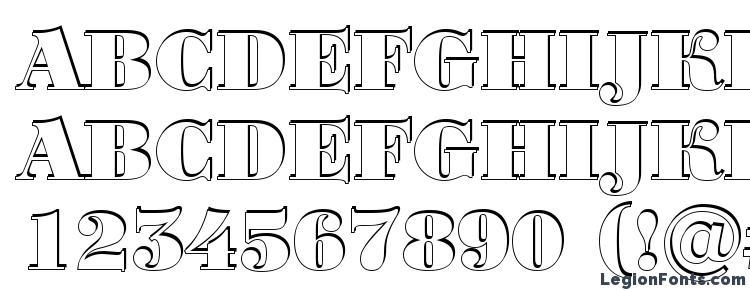 глифы шрифта Bodoni 7, символы шрифта Bodoni 7, символьная карта шрифта Bodoni 7, предварительный просмотр шрифта Bodoni 7, алфавит шрифта Bodoni 7, шрифт Bodoni 7