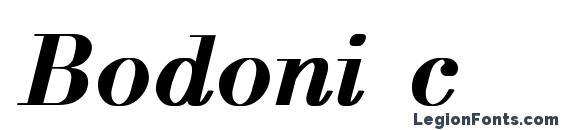 Bodoni c Font