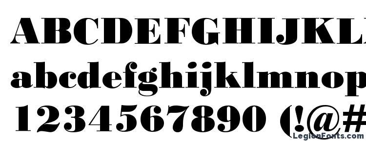 Bodoni MT Black Font Download Free / LegionFonts