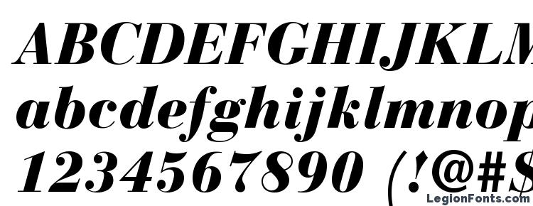 glyphs Bodoni Recut Black SSi Black Italic font, сharacters Bodoni Recut Black SSi Black Italic font, symbols Bodoni Recut Black SSi Black Italic font, character map Bodoni Recut Black SSi Black Italic font, preview Bodoni Recut Black SSi Black Italic font, abc Bodoni Recut Black SSi Black Italic font, Bodoni Recut Black SSi Black Italic font