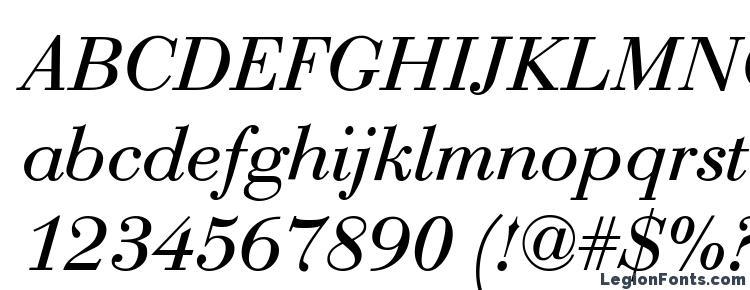 glyphs Bodoni Roman Italic font, сharacters Bodoni Roman Italic font, symbols Bodoni Roman Italic font, character map Bodoni Roman Italic font, preview Bodoni Roman Italic font, abc Bodoni Roman Italic font, Bodoni Roman Italic font
