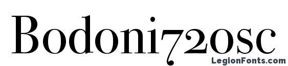 Bodoni72osc Font