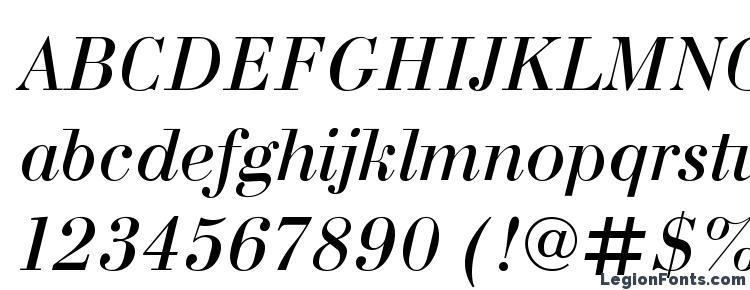 глифы шрифта Bodonic italic, символы шрифта Bodonic italic, символьная карта шрифта Bodonic italic, предварительный просмотр шрифта Bodonic italic, алфавит шрифта Bodonic italic, шрифт Bodonic italic