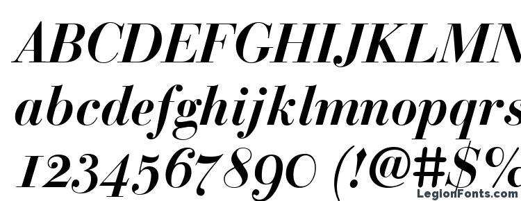 glyphs BodoniClassic BoldItalic font, сharacters BodoniClassic BoldItalic font, symbols BodoniClassic BoldItalic font, character map BodoniClassic BoldItalic font, preview BodoniClassic BoldItalic font, abc BodoniClassic BoldItalic font, BodoniClassic BoldItalic font
