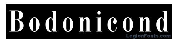 Bodonicondcameoc Font