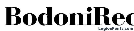 BodoniRecutHeavy Regular font, free BodoniRecutHeavy Regular font, preview BodoniRecutHeavy Regular font