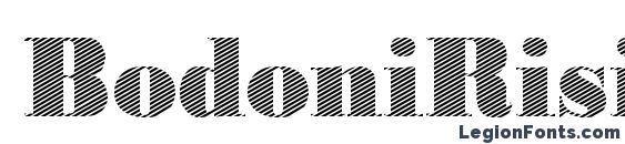 BodoniRising2 Regular Font