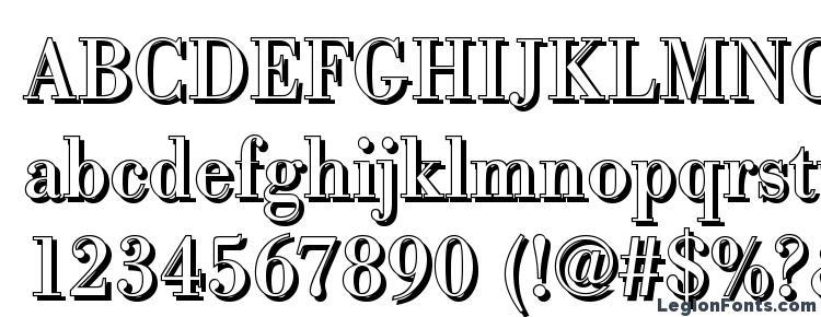 глифы шрифта BodoniSh Regular, символы шрифта BodoniSh Regular, символьная карта шрифта BodoniSh Regular, предварительный просмотр шрифта BodoniSh Regular, алфавит шрифта BodoniSh Regular, шрифт BodoniSh Regular