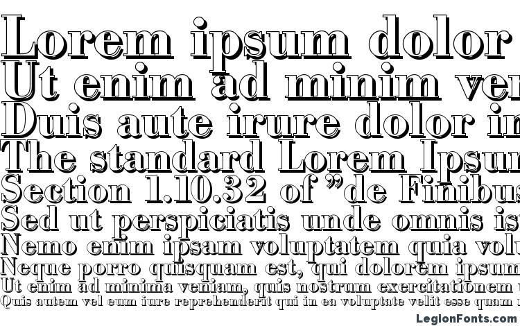 specimens BodoniShadow Bold font, sample BodoniShadow Bold font, an example of writing BodoniShadow Bold font, review BodoniShadow Bold font, preview BodoniShadow Bold font, BodoniShadow Bold font