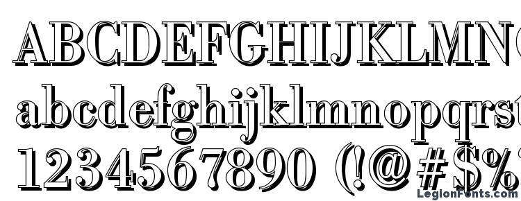 глифы шрифта BodoniShadow Regular, символы шрифта BodoniShadow Regular, символьная карта шрифта BodoniShadow Regular, предварительный просмотр шрифта BodoniShadow Regular, алфавит шрифта BodoniShadow Regular, шрифт BodoniShadow Regular