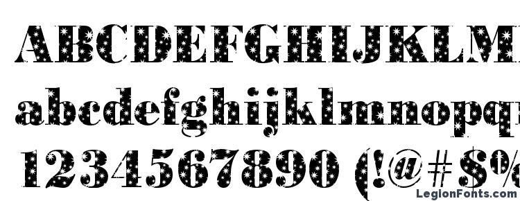 глифы шрифта BodoniStars Regular, символы шрифта BodoniStars Regular, символьная карта шрифта BodoniStars Regular, предварительный просмотр шрифта BodoniStars Regular, алфавит шрифта BodoniStars Regular, шрифт BodoniStars Regular