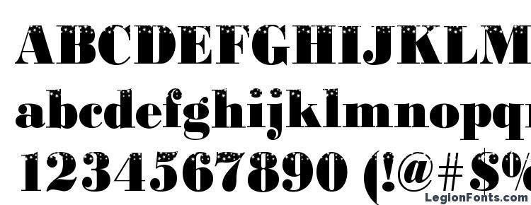 глифы шрифта BodoniStars3 Regular, символы шрифта BodoniStars3 Regular, символьная карта шрифта BodoniStars3 Regular, предварительный просмотр шрифта BodoniStars3 Regular, алфавит шрифта BodoniStars3 Regular, шрифт BodoniStars3 Regular