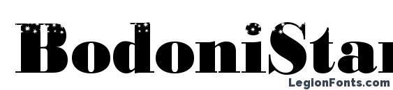 BodoniStars3 Regular Font