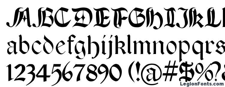 глифы шрифта BoereTudor, символы шрифта BoereTudor, символьная карта шрифта BoereTudor, предварительный просмотр шрифта BoereTudor, алфавит шрифта BoereTudor, шрифт BoereTudor