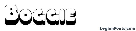 Шрифт Boggie