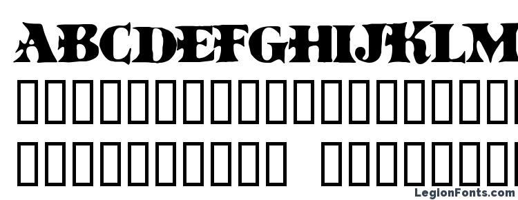глифы шрифта BoinkoMatic, символы шрифта BoinkoMatic, символьная карта шрифта BoinkoMatic, предварительный просмотр шрифта BoinkoMatic, алфавит шрифта BoinkoMatic, шрифт BoinkoMatic