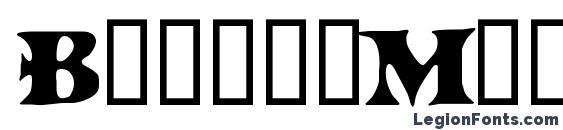 шрифт BoinkoMatic, бесплатный шрифт BoinkoMatic, предварительный просмотр шрифта BoinkoMatic