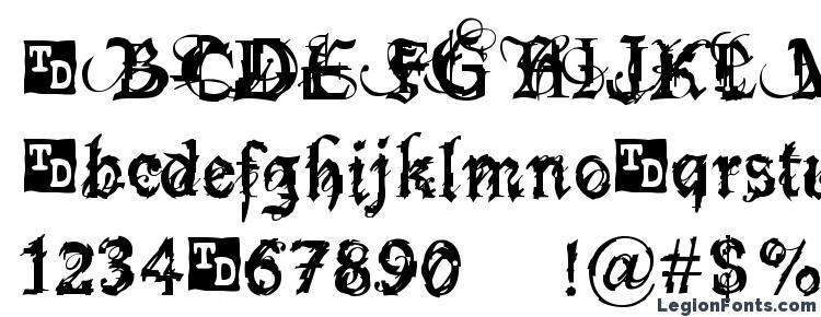 glyphs Bokonon Trial Version font, сharacters Bokonon Trial Version font, symbols Bokonon Trial Version font, character map Bokonon Trial Version font, preview Bokonon Trial Version font, abc Bokonon Trial Version font, Bokonon Trial Version font