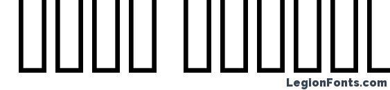 Шрифт Bold Italic Art