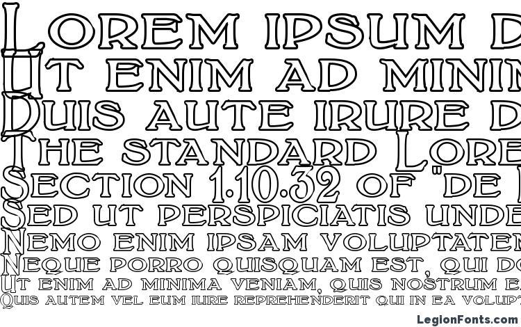 specimens BoltonTitlingOutline font, sample BoltonTitlingOutline font, an example of writing BoltonTitlingOutline font, review BoltonTitlingOutline font, preview BoltonTitlingOutline font, BoltonTitlingOutline font
