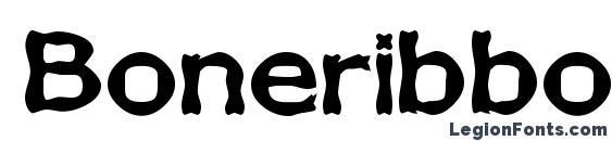 Boneribbon Bold Font