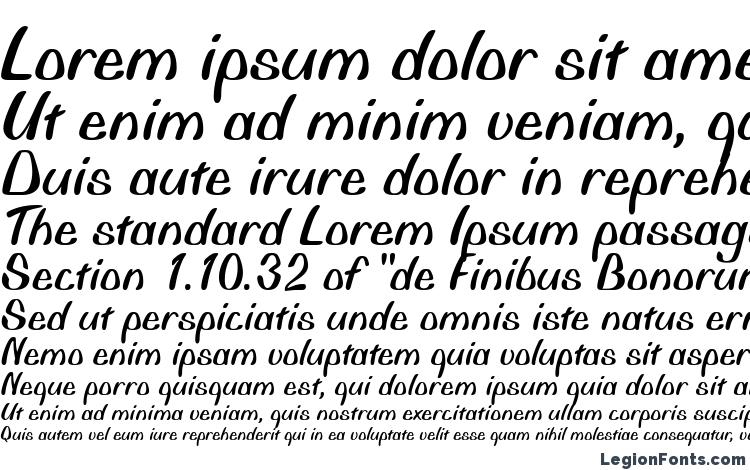 specimens Bonita Regular font, sample Bonita Regular font, an example of writing Bonita Regular font, review Bonita Regular font, preview Bonita Regular font, Bonita Regular font