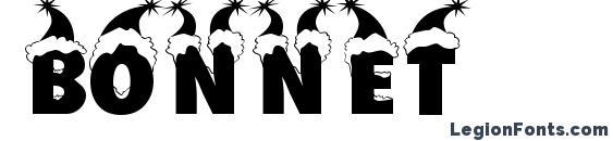 Шрифт Bonnet