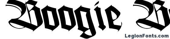шрифт Boogie Bold ttstd, бесплатный шрифт Boogie Bold ttstd, предварительный просмотр шрифта Boogie Bold ttstd