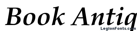 Book Antiqua Полужирный Курсив Font, Calligraphy Fonts