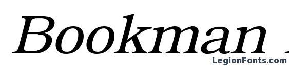 Bookman Italic Font