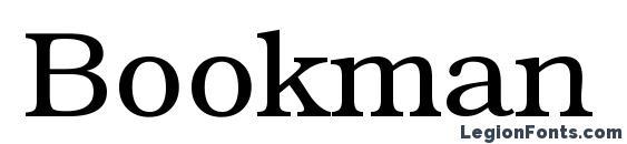Шрифт Bookman Regular