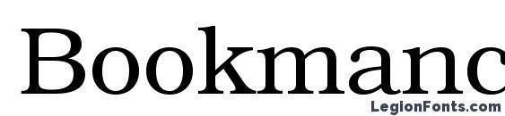 Bookmanc Font